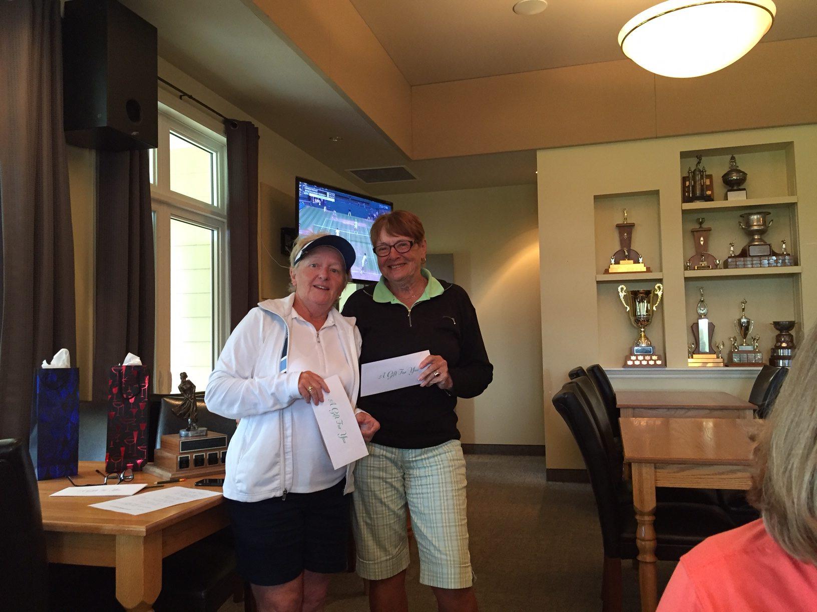 Cathy McGinnis &Pam Jenkins 3rd Net 68(R)