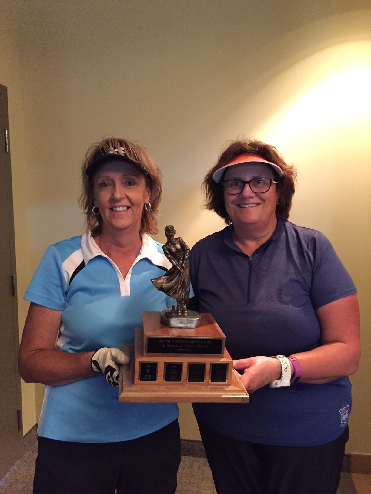 Sharon Harvey & Jean Hall Winners
